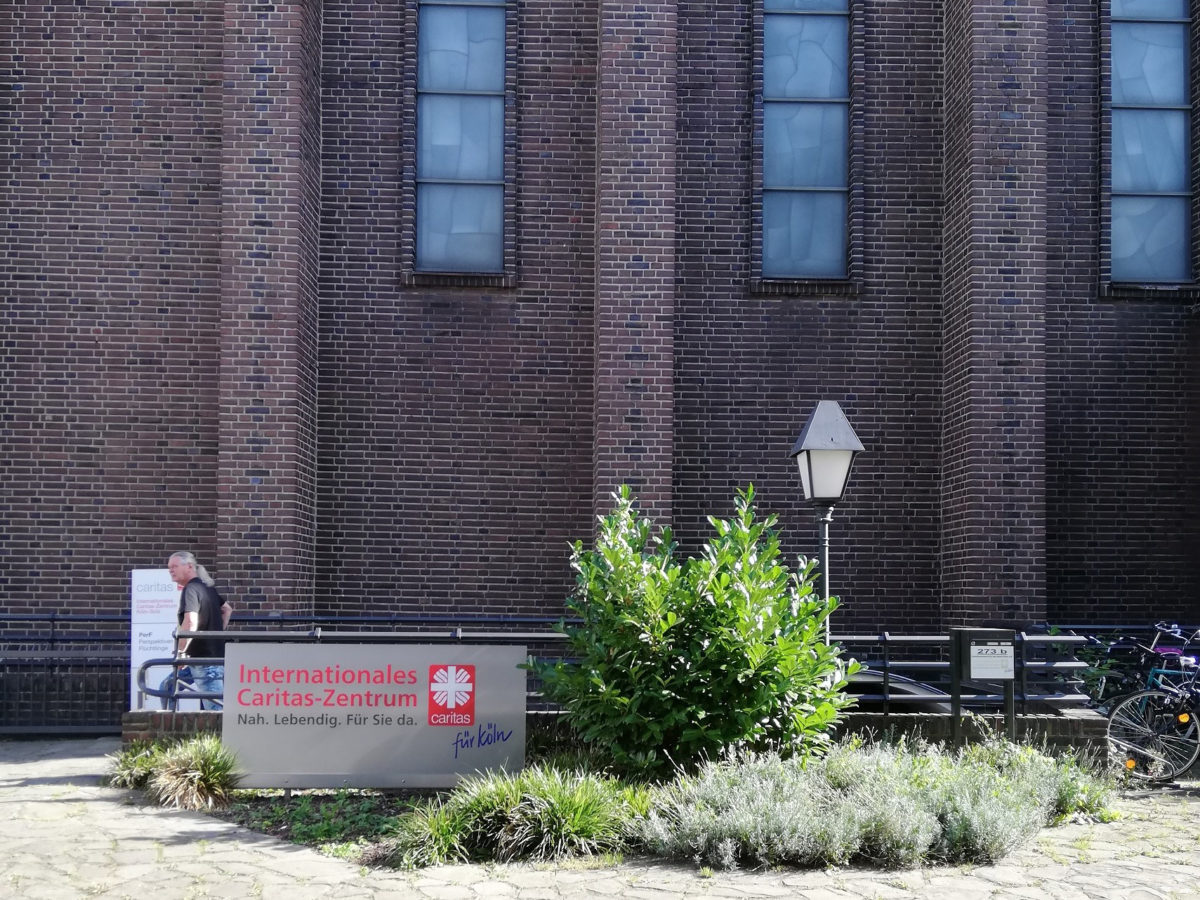 Internationales Caritas Zentrum Köln (Copyright 2020 Brigitte Hellwig)
