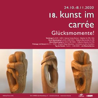 Plakat kunst im carrée 2020 (Abb. Thomas Koken)