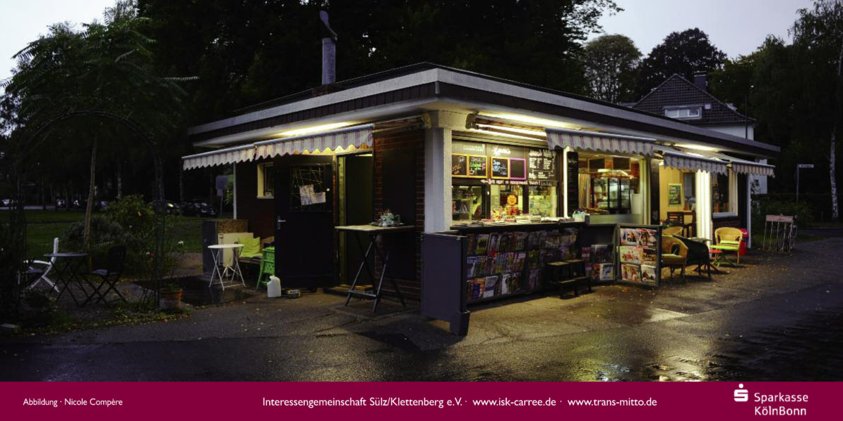 Plakat kunst im carree 2019 Kölner Kioske – Nicole Compère