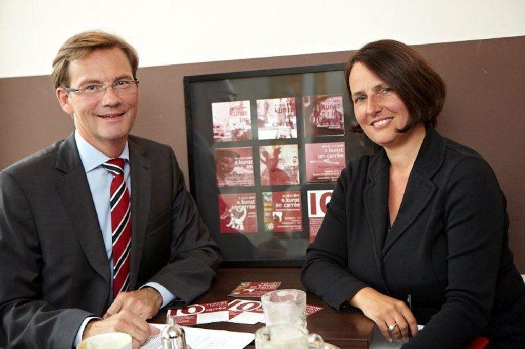 Sebastian Berges und Brigitte Nonnenmacher